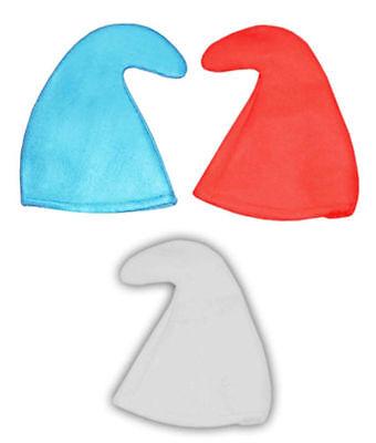 SMURF SMURFETTE GNOME ELF HAT 80/'S FANCY DRESS RED STAG HEN PARTY HAT