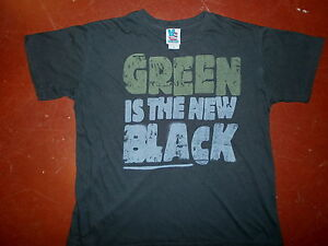Vert-Est-le-Nouveau-T-Shirt-Noir-Retro-Junk-Food-Marque-Moyen