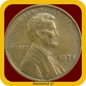 Memorial-Penny-1973-D-Lincoln-Cent-US-Coins-Coinhut2973