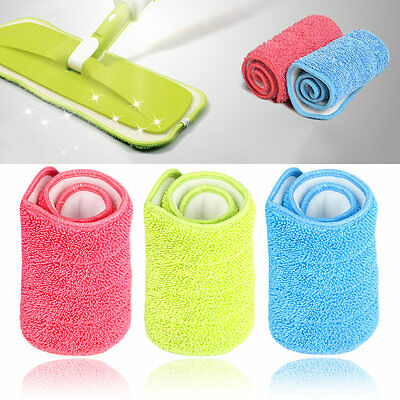 Practical Household Dust Cleaning Reusable Microfiber Pad For Spray Mop FY