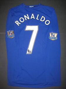 58055f191b4 Image is loading Nike-Manchester-United-Cristiano-Ronaldo-Long-Sleeve-Jersey -