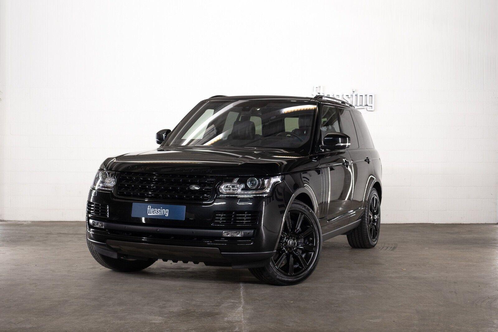 Land Rover Range Rover 5,0 SCV8 Autobiography Black aut 5d - 7.120 kr.