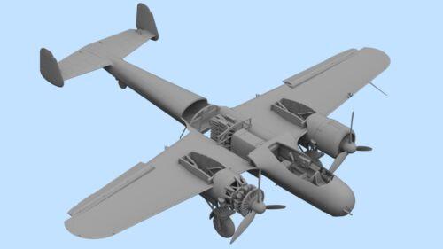 ICM 72307 Do 17Z-7 WWII German Night Fighter Plastic Model Kit 1//72