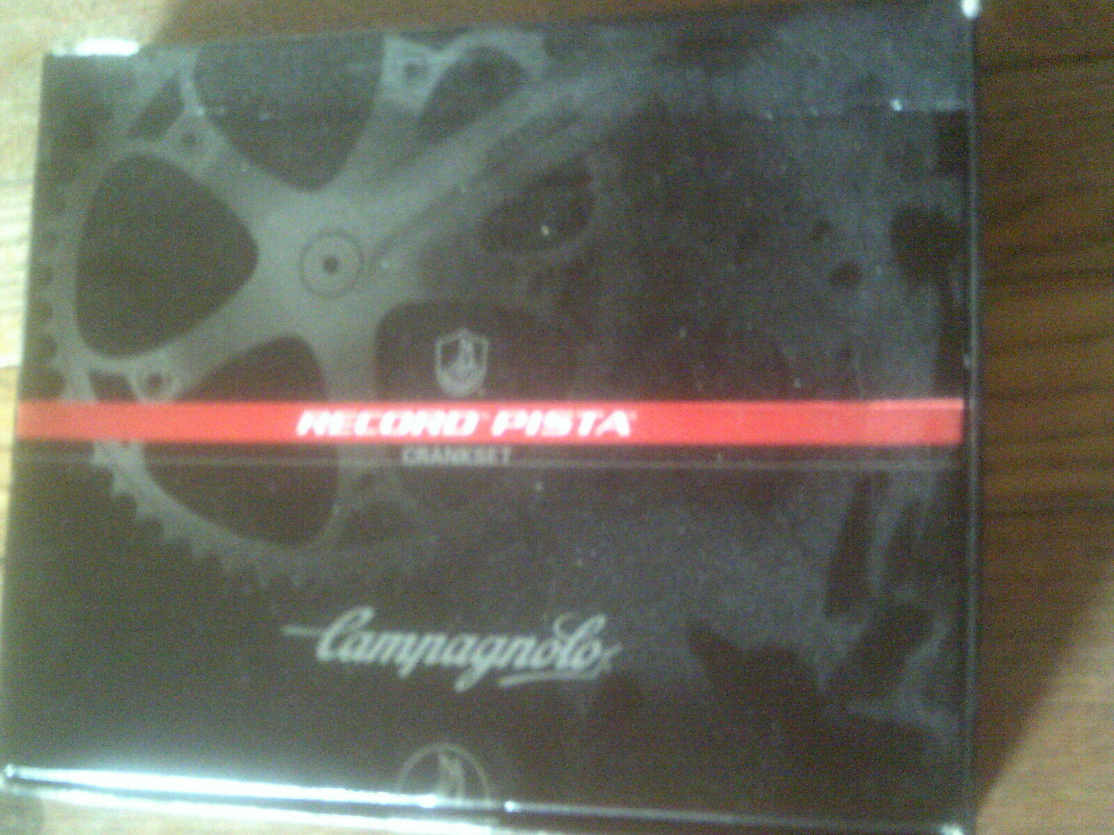 NUOVO RECORD CAMPAGNOLO manovelle pedaliera in, 165 mm, Binario, 18 48 DENTI