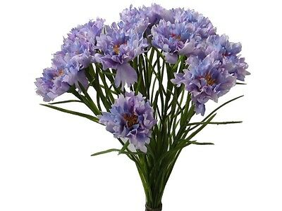 wildkornblumen Lilac 2 Bunde Decorative Flower zyane Artificial Cornflower