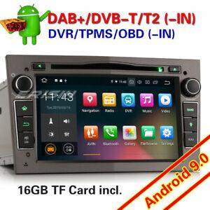 DAB-Autoradio-Android-9-0-for-Opel-Corsa-C-D-Vectra-C-Zafira-B-Astra-Vivaro-GPS