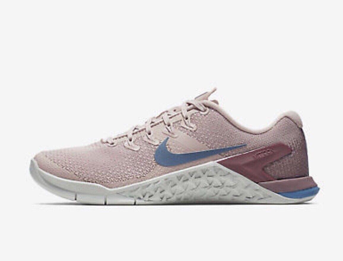 Nike metcon 4 EU 38.5 delle particelle particelle particelle Beige Teal crossfit palestra allenamento e524cc