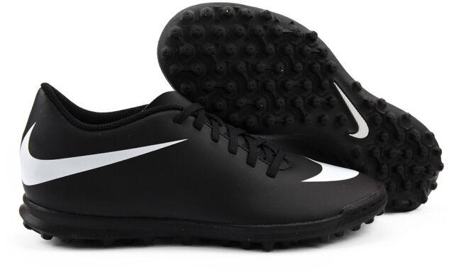 NIKE Bravatax II TF COL.Black Scarpe Calcetto Ragazzi Man Shoes Soccer Calcio