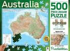 & 2013 Hinkler Australia Map Puzzlebilities 500 PC Jigsaw Puzzle