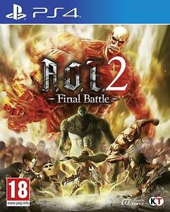 AOT-2-Attack-on-Titan-2-Final-Battle-For-PS4-New-amp-Sealed