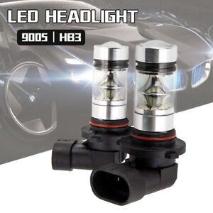 2PC-9005-HB3-9145-H10-8000K-100W-LED-Cree-Projector-Fog-Driving-Light-Bulb-White
