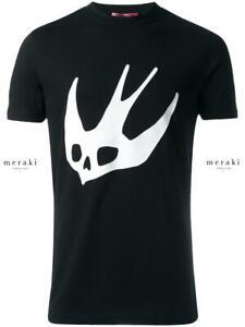mcq alexander mcqueen swallow mcq logo black t shirt nwot ebay details about mcq alexander mcqueen swallow mcq logo black t shirt nwot