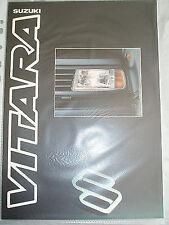 Suzuki Vitara brochure Dec 1990