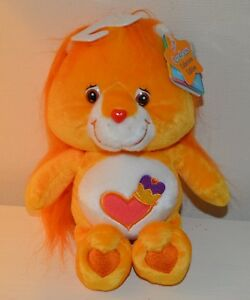 En Herbe Peluche Bisounours Cousin Lion Care Bears Collector 25cm Neuf 2003 Play Along Moins Cher