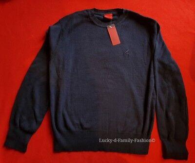 NEW Kangol navy blue boys cotton jumper Age 11-12 /& 13 smart school uniform wear