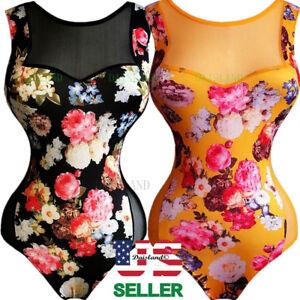 bda0c5041469 Image is loading Jumpsuit-Sleeveless-Lady-Bodysuit-Leotard-Short-Blouse- Women-