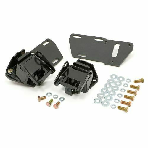 Transdapt 4671 Motor Mount Kit For Chevy 283-350 Or LT1 Into S10 S15 4.3L 2WD