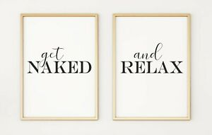 Get-Naked-and-Relax-Set-of-2-Typography-A4-Poster-Prints-PO371