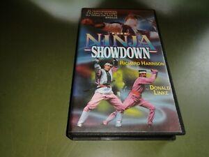 vhs - The Ninja Showdown (   Richard Harrison, Donald Linke, Lars Jorgensen)