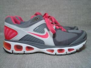sports shoes 999dc b9ee3 Details about NIKE UK 7 AIR TAILWIND PINK AND GREY TRAINERS WITH FLYWIRE