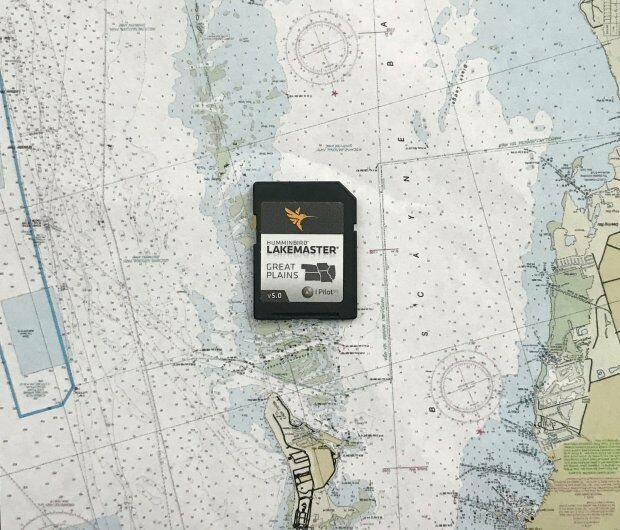 Humminbird 600017-2 Lake Master Chart Great Plains SD on maps for hp, maps for magellan, maps for tomtom, maps for garmin,