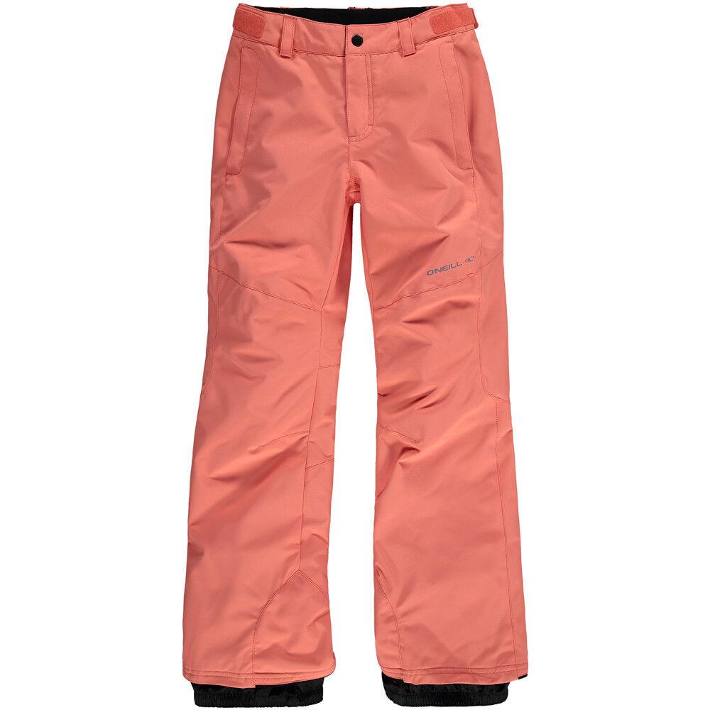 O'Neill Charm Girls Ski Pants, Fusion Coral