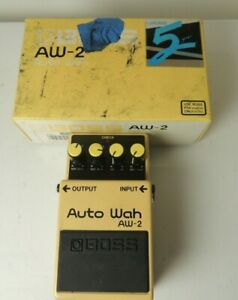 Boss AW-2 Auto Wah Effects Pedal Filter Free USA Shipping