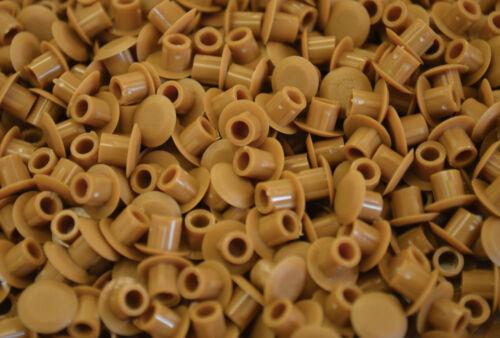 10 X 5 mm cubierta de Agujero Tapón Fudge supresión agujero Tapón Cocina Dormitorio Armario Estante