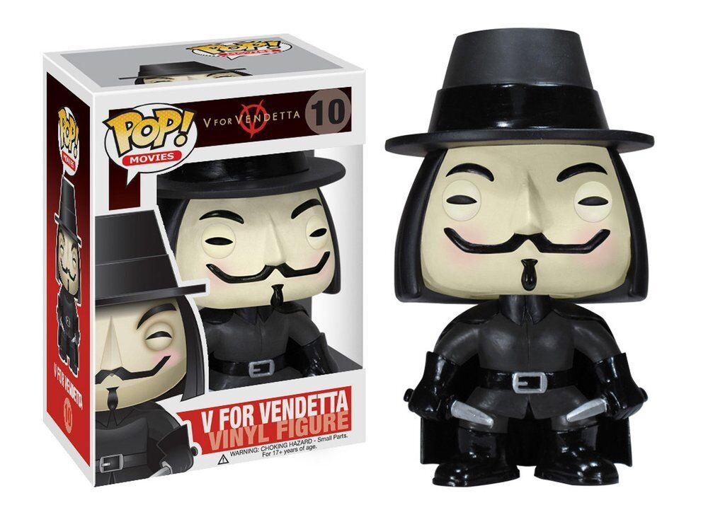 popular V for Vendetta Guy Fawkes pop Movies 10 vinilo vinilo vinilo personaje funko  orden en línea