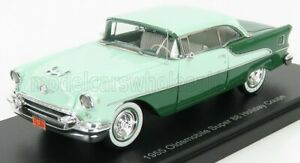 ESVAL MODEL 1/43 OLDSMOBILE   SUPER 88 HOLIDAY COUPE 1955   2 TONE GREEN