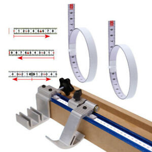 T-track-Miter-Track-Tape-Measure-Self-Adhesive-Steel-Ruler-Miter-Saw-Sc-AU