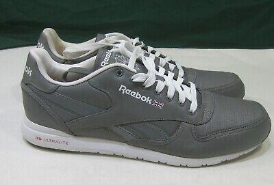 frecuentemente si puedes Precursor  new Reebok Classic Leather Clean Ultralite V56588 Fitness MEN Size 9.5 |  eBay