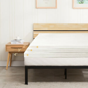 5-5-Comfortable-2-034-3-034-4-034-Memory-Foam-Mattress-Topper-Full-Queen-King-Modern