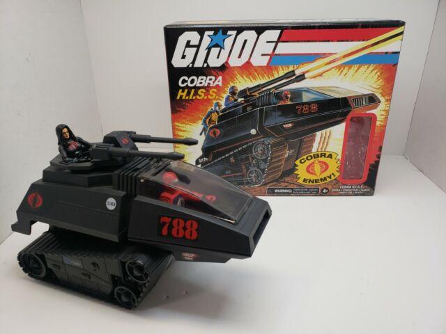 G.I. Joe Retro COBRA HISS - 2020 Tank Cobra-Enemy w/Hiss-Driver & Extra Figure
