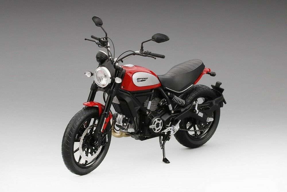 2015 Ducati Scrambler Symbol red Ducati in 1 12 Maßstab Tsm