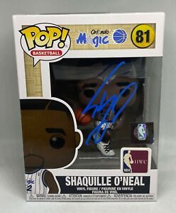 Shaquille-O-039-Neal-Signed-FUNKO-POP-Vinyl-Doll-Beckett-BAS-WITNESSED-COA-Magic