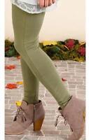 Matilda Jane Notion Sandy Pants Small S Women's Green Leggings