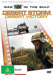 WAR-IN-THE-GULF-DESERT-STORM-DESERT-VICTORY-EXCELLENT-COND-DVD-R4-PAL