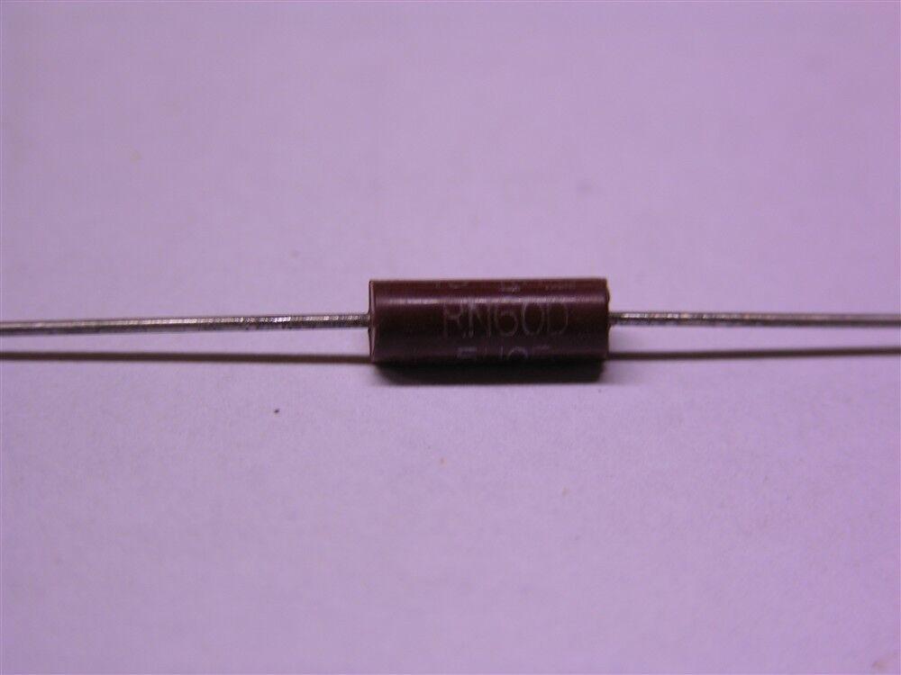 1//2W 1K ohm MIL Resistor WIDERSTÄNDE IRC RN60D 1K 0.5W 4pcs