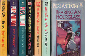 Complete-Set-Lot-of-7-Piers-Anthony-Incarnations-of-Immortality-Books-1-7