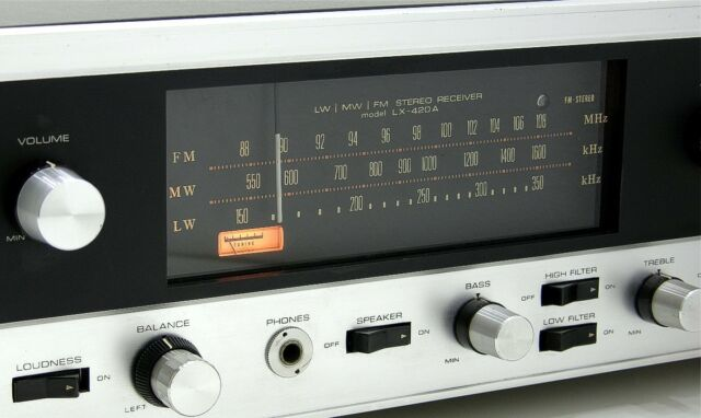 Pioneer LX-420A vintage tube receiver - the sound of the 60'ties...