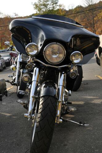 "Made in USA Low Profile 2/"" Black 96-2013 Harley Davidson Windshield DRESSER FLHX"