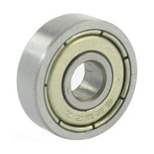 10 Pcs 625ZZ 5mm x 16mm x 5mm Shielded Deep Groove Radial Ball Bearing LW