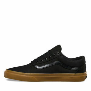 c18b71ee9886 NEW! Men s Vans Old Skool skate SHOE Classic BLACK Canvas Gum SIZE 8 ...