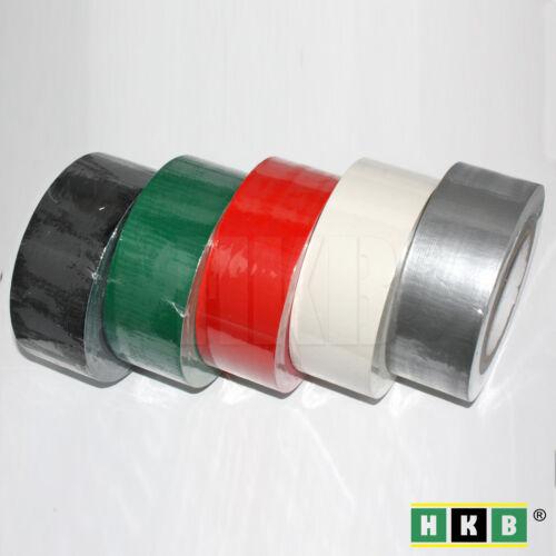 Panzerband Gaffer-Tape 50mx50mm Panzertape Gewebeband verschiedene Farben