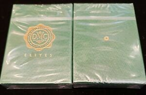 DMC-Elites-Marked-Deck-GREEN-Playing-Cards-BRAND-NEW-SEALED