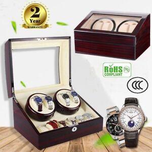 4-6-Coffret-Remontoir-Montre-Automatique-Watch-Winder-Boite-de-Rangement