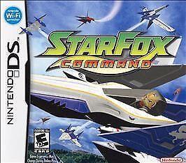 Star Fox Command ( Nintendo DS ) Lite Dsi xl 2ds 3ds xl starfox