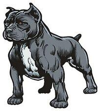 Pitbull sticker- Dog -Art - Window - Auto Decal