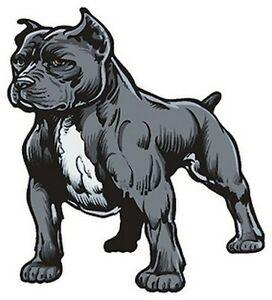 Pitbull Sticker Dog Art Window Auto Decal Ebay